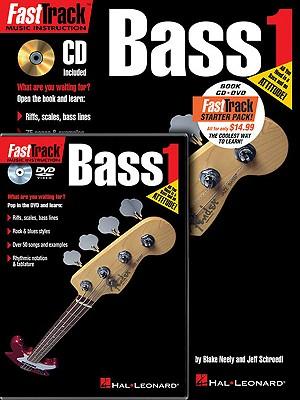 Fasttrack Bass Method Starter Pack By Hal Leonard Publishing Corporation (COR)